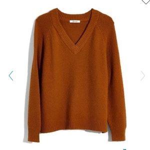 Arden V-Neck Crop Pullover Sweater